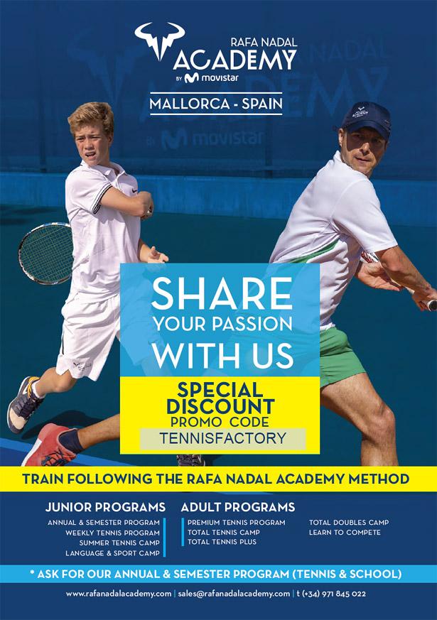 Unsere Kooperation mit der Rafa Nadal Academy